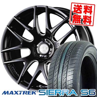 255/35R20 97W XL MAXTREK マックストレック SIERRA S6 シエラ エスロク Balken BTC basic ヴァルケン BTC ベーシック サマータイヤホイール4本セット