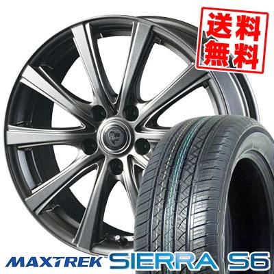 235/50R18 101V XL MAXTREK マックストレック SIERRA S6 シエラ エスロク CLAIRE DG10 クレール DG10 サマータイヤホイール4本セット