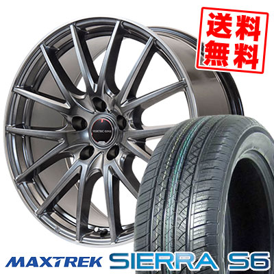 235/50R18 101V XL MAXTREK マックストレック SIERRA S6 シエラ エスロク VERTEC ONE Eins.1 ヴァーテック ワン アインス ワン サマータイヤホイール4本セット