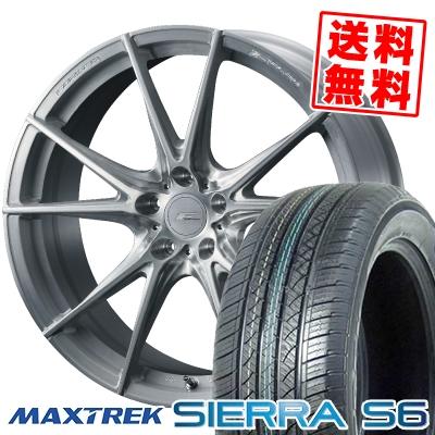 235/50R18 101V XL MAXTREK マックストレック SIERRA S6 シエラ エスロク WEDS F ZERO FZ-2 ウェッズ エフゼロ FZ-2 サマータイヤホイール4本セット