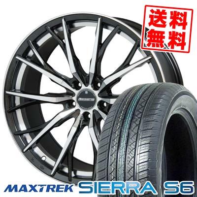 235/50R18 101V XL MAXTREK マックストレック SIERRA S6 シエラ エスロク Stich LEGZAS FUHLER シュティッヒ レグザス フューラー サマータイヤホイール4本セット