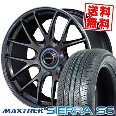 255/35R20 97W XL MAXTREK マックストレック SIERRA S6 シエラ エスロク RAYS VOLKRACING G27 レイズ ボルクレーシング G27 サマータイヤホイール4本セット