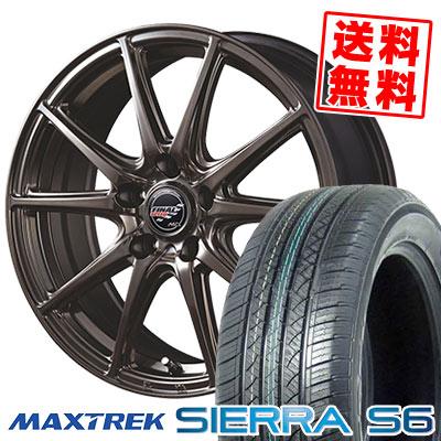 225/50R18 95V MAXTREK マックストレック SIERRA S6 シエラ エスロク FINALSPEED GR-Volt ファイナルスピード GRボルト サマータイヤホイール4本セット