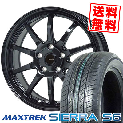 225/55R18 98V MAXTREK MAXTREK マックストレック SIERRA エスロク S6 シエラ シエラ エスロク G.speed G-04 Gスピード G-04 サマータイヤホイール4本セット, 【超新作】:cae4beb5 --- sunward.msk.ru
