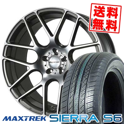 255/35R20 97W XL MAXTREK マックストレック SIERRA S6 シエラ エスロク HYPERION CVM ハイペリオン CVM サマータイヤホイール4本セット