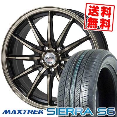 235/60R18 103H MAXTREK マックストレック SIERRA S6 シエラ エスロク JP STYLE Vercely JPスタイル バークレー サマータイヤホイール4本セット