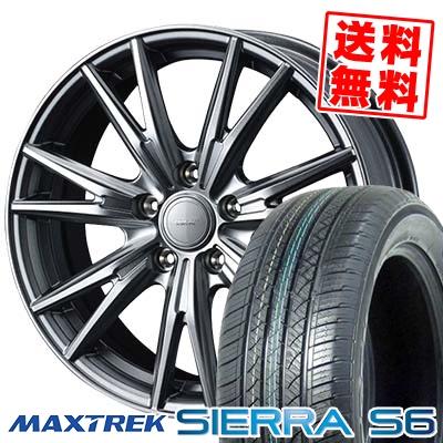 235/50R18 101V XL MAXTREK マックストレック SIERRA S6 シエラ エスロク VELVA KEVIN ヴェルヴァ ケヴィン サマータイヤホイール4本セット【取付対象】
