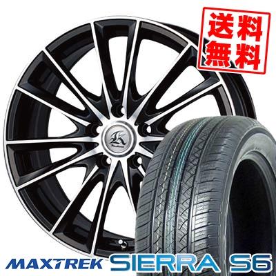 235/50R18 101V XL MAXTREK マックストレック SIERRA S6 シエラ エスロク Kashina FV7 カシーナ FV7 サマータイヤホイール4本セット
