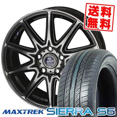 235/50R18 101V XL MAXTREK マックストレック SIERRA S6 シエラ エスロク SMACK LAVINE スマック ラヴィーネ サマータイヤホイール4本セット【取付対象】