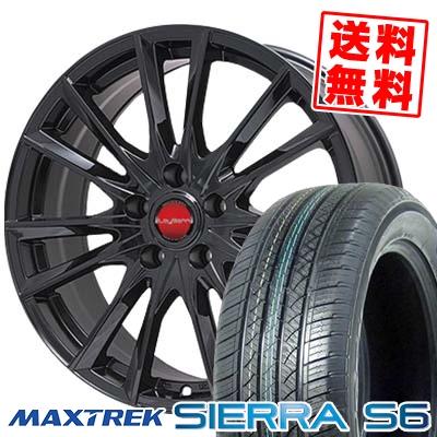 215/70R16 108/106Q MAXTREK マックストレック SIERRA S6 シエラ エスロク LeyBahn GBX レイバーン GBX サマータイヤホイール4本セット