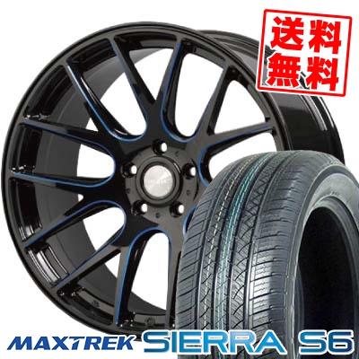 225/65R17 102S MAXTREK マックストレック SIERRA S6 シエラ エスロク Lxryhanes LH-SPORT LH-013 ラグジーヘインズ LH-スポーツ LH-013 サマータイヤホイール4本セット