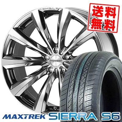 255/35R20 97W XL MAXTREK マックストレック SIERRA S6 シエラ エスロク VENERDi MADELENA ヴェネルディ マデリーナ サマータイヤホイール4本セット
