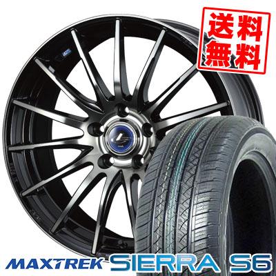 235/50R18 101V XL MAXTREK マックストレック SIERRA S6 シエラ エスロク weds LEONIS NAVIA 05 ウエッズ レオニス ナヴィア 05 サマータイヤホイール4本セット