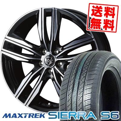 235/60R18 103H MAXTREK マックストレック SIERRA S6 シエラ エスロク WEDS RIZLEY DS ウェッズ ライツレー DS サマータイヤホイール4本セット