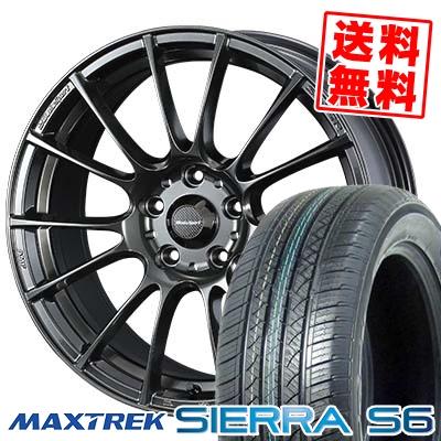 215/70R16 108/106Q MAXTREK マックストレック SIERRA S6 シエラ エスロク WedsSport SA-72R ウェッズスポーツ SA-72R サマータイヤホイール4本セット
