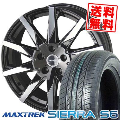 235/50R18 101V XL MAXTREK マックストレック SIERRA S6 シエラ エスロク SMACK SFIDA スマック スフィーダ サマータイヤホイール4本セット【取付対象】