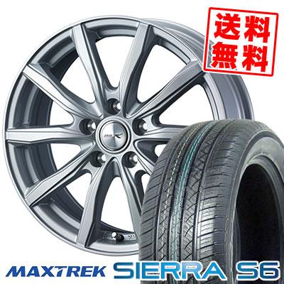 235/50R18 101V XL MAXTREK マックストレック SIERRA S6 シエラ エスロク JOKER SHAKE ジョーカー シェイク サマータイヤホイール4本セット【取付対象】