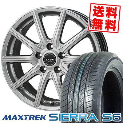 225 SPORT-01/55R18 98V MAXTREK シュポルト01 マックストレック SIERRA ザック S6 シエラ エスロク ZACK SPORT-01 ザック シュポルト01 サマータイヤホイール4本セット, Car Parts Shop MM:9b6b3bf5 --- sunward.msk.ru