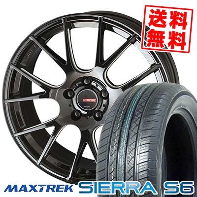 225/65R17 102S MAXTREK マックストレック SIERRA S6 シエラ エスロク CIRCLAR RM-7 サーキュラー RM-7 サマータイヤホイール4本セット