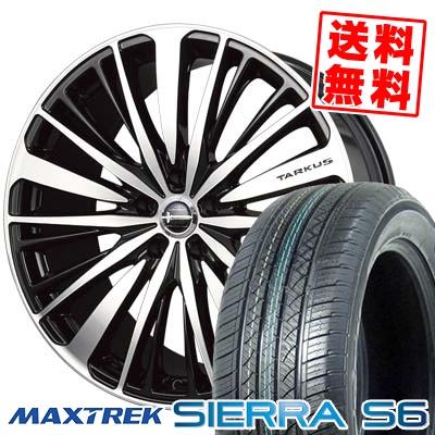 225/65R17 102S MAXTREK マックストレック SIERRA S6 シエラ エスロク BADX LOXARNY TARKUS バドックス ロクサーニ タルカス サマータイヤホイール4本セット