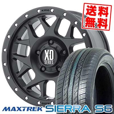 215/70R16 108/106Q MAXTREK マックストレック SIERRA S6 シエラ エスロク KMC XD127 BULLY KMC XD127 ブリー サマータイヤホイール4本セット