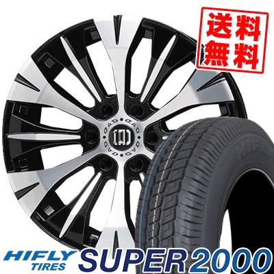 215/65R16C 109/107T HIFLY ハイフライ SUPER2000 スーパー ニセン D.A.D BARDICHE D.A.D バルディッシュ サマータイヤホイール4本セット for 200系ハイエース