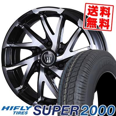 215/65R16C 109/107T HIFLY ハイフライ SUPER2000 スーパー ニセン BARBERO D-TWIST バルベロ ダイナミック ツイスト サマータイヤホイール4本セット for 200系ハイエース