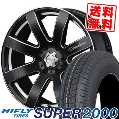 215/65R16C 109/107T HIFLY ハイフライ SUPER2000 スーパー ニセン PANDEMIC LW-8 MONO BLOCK パンデミック LW-8 モノブロック サマータイヤホイール4本セット for 200系ハイエース