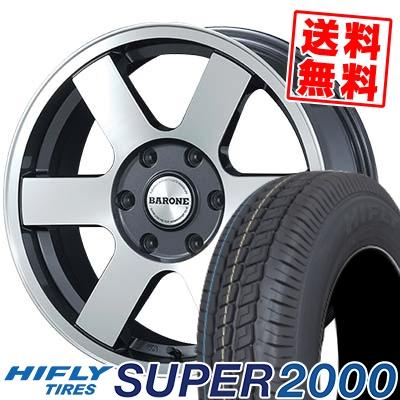 215/65R16C 109/107T HIFLY ハイフライ SUPER2000 スーパー ニセン FABULOUS BARONE MC-6 ファブレスヴァローネ MC6 サマータイヤホイール4本セット for 200系ハイエース