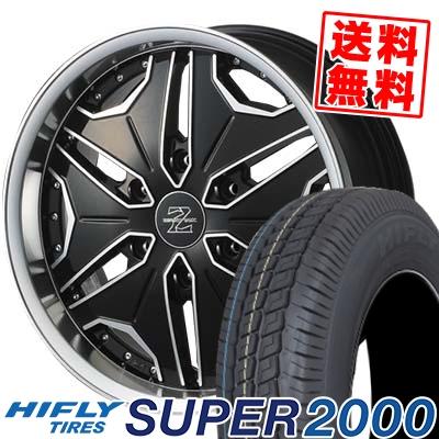 215/65R16C 109/107T HIFLY ハイフライ SUPER2000 スーパー ニセン ZERO BREAK Z ゼロブレイク ゼット サマータイヤホイール4本セット for 200系ハイエース