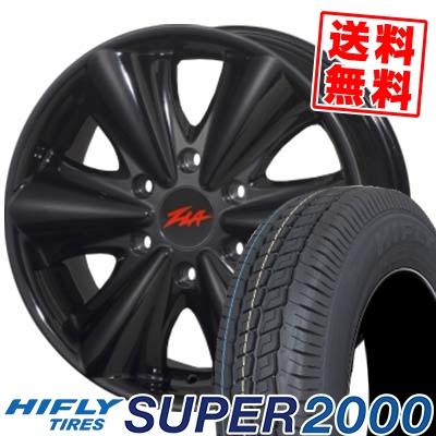 215/65R16C 109/107T HIFLY ハイフライ SUPER2000 スーパー ニセン ZLA FATBOY ジラ ファットボーイ サマータイヤホイール4本セット for 200系ハイエース