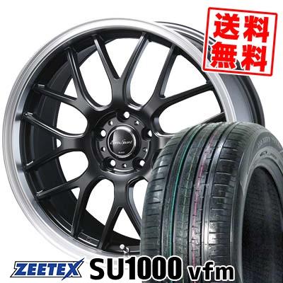 215/55R18 99V XL ZEETEX ジーテックス ZEETEX SU1000 vfm ジーテックス SU1000 vfm Eoro Sport Type 805 ユーロスポーツ タイプ805 サマータイヤホイール4本セット