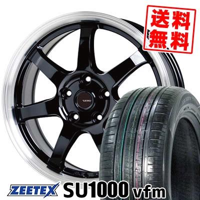 235/55R18 104V XL ZEETEX ジーテックス ZEETEX SU1000 vfm ジーテックス SU1000 vfm G.speed P-03 ジースピード P-03 サマータイヤホイール4本セット