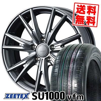 235/60R18 107W XL ZEETEX ジーテックス ZEETEX SU1000 vfm ジーテックス SU1000 vfm VELVA KEVIN ヴェルヴァ ケヴィン サマータイヤホイール4本セット