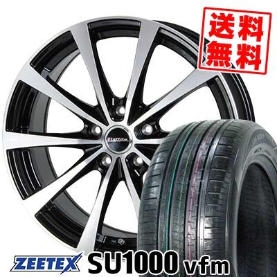 235/60R18 107W XL ZEETEX ジーテックス ZEETEX SU1000 vfm ジーテックス SU1000 vfm Laffite LE-03 ラフィット LE-03 サマータイヤホイール4本セット