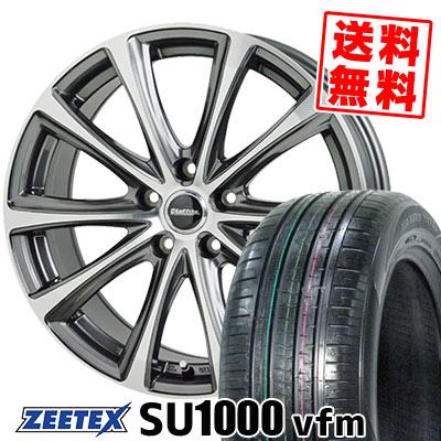 235/60R18 107W XL ZEETEX ジーテックス ZEETEX SU1000 vfm ジーテックス SU1000 vfm Laffite LE-04 ラフィット LE-04 サマータイヤホイール4本セット