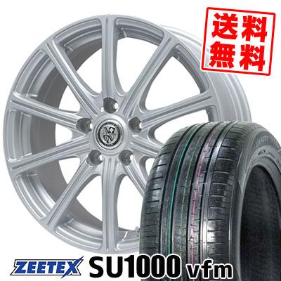 235/60R18 107W XL ZEETEX ジーテックス ZEETEX SU1000 vfm ジーテックス SU1000 vfm TRG-SS10 TRG SS10 サマータイヤホイール4本セット