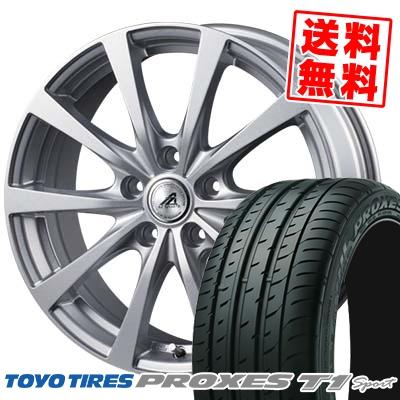 225/55R16 99Y TOYO TIRES トーヨー タイヤ PROXES T1 Sport プロクセス T1スポーツ AZ SPORTS EX10 AZスポーツ EX10 サマータイヤホイール4本セット【取付対象】