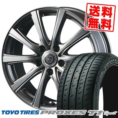 205/55R16 94W TOYO TIRES トーヨー タイヤ PROXES T1 sport プロクセス T1 スポーツ CLAIRE DG10 クレール DG10 サマータイヤホイール4本セット【取付対象】