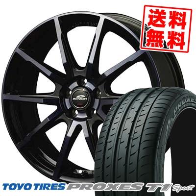205/55R16 TOYO TIRES トーヨー タイヤ PROXES T1 sport プロクセス T1 スポーツ SCHNEIDER DR-01 シュナイダー DR-01 サマータイヤホイール4本セット