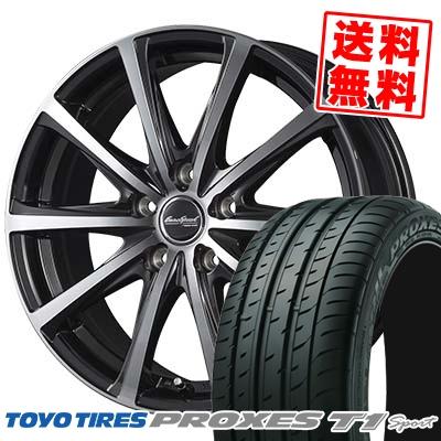 215/55R16 TOYO TIRES トーヨー タイヤ PROXES T1 sport プロクセス T1スポーツ EuroSpeed V25 ユーロスピード V25 サマータイヤホイール4本セット【取付対象】
