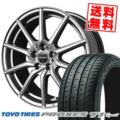 205/55R16 94W TOYO TIRES トーヨー タイヤ PROXES T1 sport プロクセス T1スポーツ EuroSpeed G810 ユーロスピード G810 サマータイヤホイール4本セット