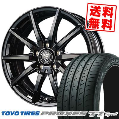 215/55R16 97Y TOYO TIRES トーヨー タイヤ PROXES T1 sport プロクセス T1スポーツ TRG-GB10 TRG GB10 サマータイヤホイール4本セット【取付対象】