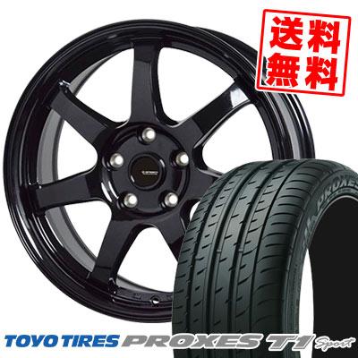 225/55R16 99Y TOYO TIRES トーヨー タイヤ PROXES T1 Sport プロクセス T1スポーツ G.speed G-03 Gスピード G-03 サマータイヤホイール4本セット