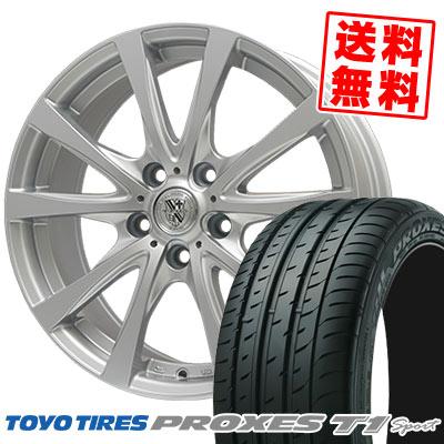225/55R16 99Y TOYO TIRES トーヨー タイヤ PROXES T1 Sport プロクセス T1スポーツ TRG-SILBAHN TRG シルバーン サマータイヤホイール4本セット