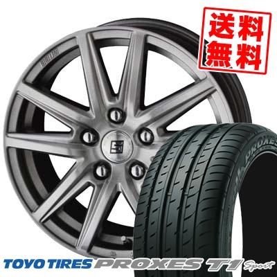 205/55R16 94W TOYO TIRES トーヨー タイヤ PROXES T1 sport プロクセス T1スポーツ SEIN SS ザイン エスエス サマータイヤホイール4本セット