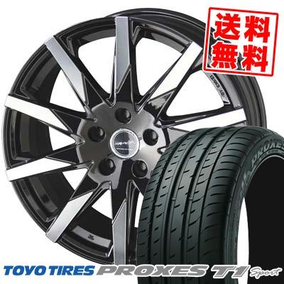 205/55R16 94W TOYO TIRES トーヨー タイヤ PROXES T1 sport プロクセス T1 スポーツ SMACK SFIDA スマック スフィーダ サマータイヤホイール4本セット