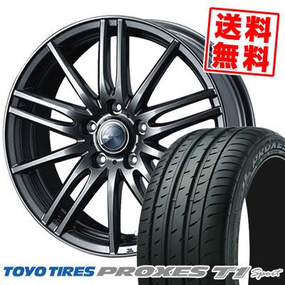 215/55R16 97Y TOYO TIRES トーヨー タイヤ PROXES T1 sport プロクセス T1スポーツ Zamik Tito ザミック ティート サマータイヤホイール4本セット