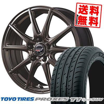 235/60R18 107W TOYO TIRES トーヨー タイヤ PROXES T1 sport SUV プロクセス T1スポーツ SUV FINALSPEED GR-Volt ファイナルスピード GRボルト サマータイヤホイール4本セット
