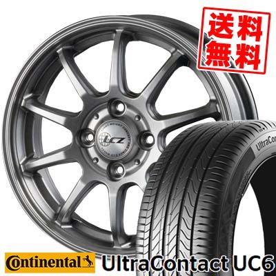 205/45R16 CONTINENTAL コンチネンタル UltraContact UC6 ウルトラコンタクト UC6 LCZ010 LCZ010 サマータイヤホイール4本セット